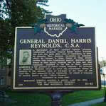 Historic Marker for General Daniel Harris Reynolds